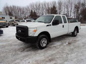 Ext Cab Long Box 4x4 2011 Ford F250 6.2L