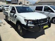 2014 Ford Ranger PX XL 3.2 (4x4) White 6 Speed Manual Cab Chassis Peakhurst Hurstville Area Preview