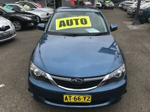 2008 Subaru Impreza MY08 R (AWD) Blue 4 Speed Automatic Hatchback Lansvale Liverpool Area Preview