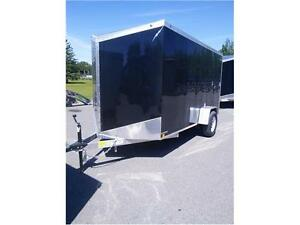 Lightning 6 x 12 ALL Aluminum Cargo Trailer with Ramp