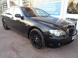BMW 730 3.0TD auto 2008 d Sport S/H Sat nav £3800 added extras p/x swap