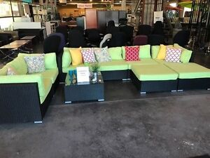 SALE- Giant Florence Green Patio Furniture Set- SALE (1) Avail