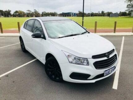 2016 Holden Cruze JH MY16 Equipe White 6 Speed Automatic Hatchback