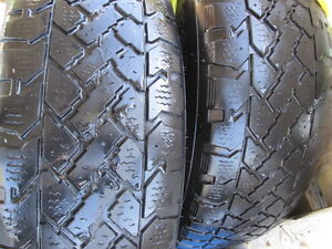 2 winter tires 215-65 R16 on rims