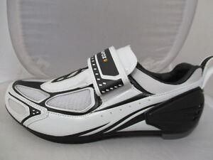 Muddyfox-TRI100-Hombre-Zapatillas-Ciclismo-UK-9-EU-43-Ref-4421