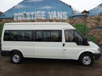 * NO VAT * Ford Transit 2.2L LWB 15 Seat Minibus - Immaculate Bodywork, No Rust