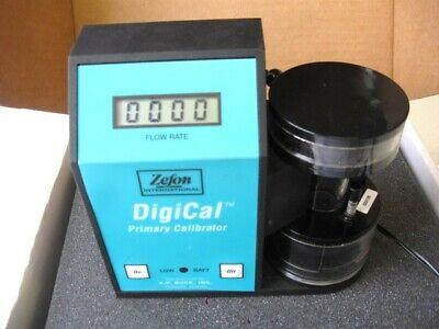 Zefon International Digical Primary Gas Flow Calibrator Dg-5