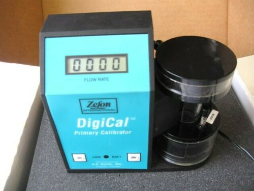 Zefon International DigiCal Primary Gas Flow Calibrator DG-5