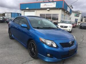 TOYOTA COROLLA XRS 2009 AUTO/ AC/ MAGS/ TOIT OUVRANT/ DÉMARREUR