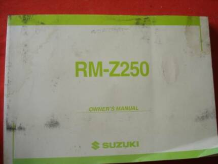 SUZUKI SELECTION OF RM PARTS OWNERS MANUALS Dianella Stirling Area Preview