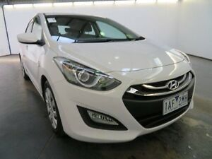2013 Hyundai i30 GD Active White 6 Speed Automatic Hatchback Albion Brimbank Area Preview