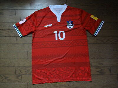 South Sudan 100% Authentic Player Issue Soccer Jersey AMS BNWOT 2015 L #10 image