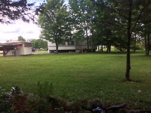Huge Lot on Big Rideau Lake with 39' Glendale Park model Trailer