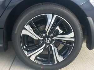 Honda Civic Alloy Wheels with tires