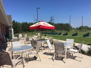 Private furnished event space available