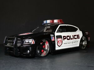 Dodge Charger Police Car Toy Car Interior Design