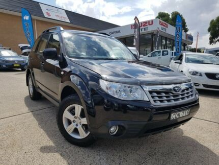 2011 Subaru Forester S3 MY11 X AWD Black 4 Speed Sports Automatic Wagon Belconnen Belconnen Area Preview