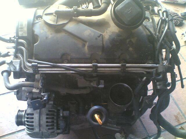 VW GOLF 5 1.9TDI ENGINE ''BKC''head block sump