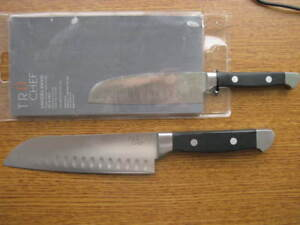 TRU Chef Santoku Knives, New in package