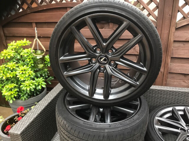 gunmetal 18 lexus is 300h genuine f sport wheels for sale 4 in greenisland county antrim. Black Bedroom Furniture Sets. Home Design Ideas