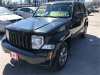 2008 Jeep Liberty Sport 4X4 TRAIL RATED NORTH EDT...ONLY $8250.