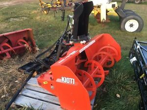 "2015 Kioti 54"" Front Snowblower"