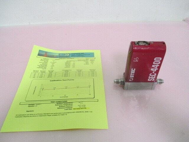 STEC SEC-4400M Mass Flow Controller, MFC, O2, 400 SCCM, Calibrated, 423527