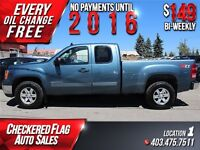 2012 GMC Sierra 1500 SLE Extended Cab W/ 4X4-Factory Tow