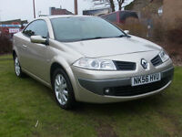 Renault Megane Dynamique Cabriolet 1,6 PX Swap Anything considered