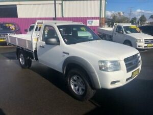 2007 Ford Ranger PJ XL (4x4) White 5 Speed Manual Cab Chassis Dubbo Dubbo Area Preview
