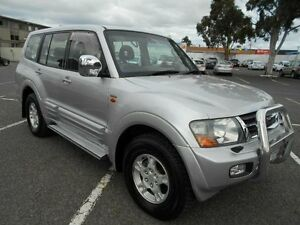 2002 Mitsubishi Pajero NM Exceed LWB (4x4) Silver 5 Speed Auto Sports Mode Wagon Maidstone Maribyrnong Area Preview
