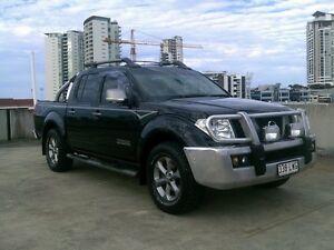 2009 Nissan Navara D40 Titanium Black 6 Speed Manual Utility Southport Gold Coast City Preview