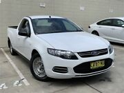 2014 Ford Falcon FG MkII EcoLPi Ute Super Cab White 6 Speed Sports Automatic Utility Blacktown Blacktown Area Preview