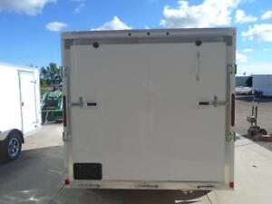 LOWEST PRICED 7X14' ALL ALUMINUM CARGO TRAILER W/RAMP DOOR WOW! London Ontario image 4