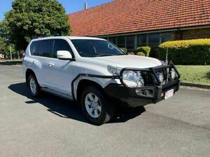 2014 Toyota Landcruiser Prado KDJ150R GXL White 5 Speed Automatic Wagon Chermside Brisbane North East Preview