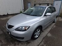 Mazada 3 Katano 2007 with roof bars clean good working condition