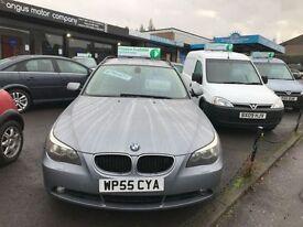 BMW 5 SERIES 2.5 525I SE 5d AUTO 215 BHP (grey) 2005