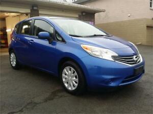 2014 Nissan Versa Note;Free 7 Month 11000 km Powertrain Warranty