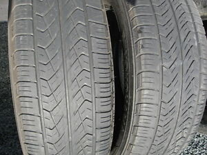PAIR OF 225/65R17 ALL SEASON.$40 FOR BOTH