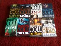 Martina Cole novels