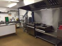 Commercial Kitchen sharer being sought - very practical, medium sized production kitchen to share