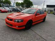 2003 Ford Falcon BA XR8 Orange 4 Speed Auto Seq Sportshift Sedan Coopers Plains Brisbane South West Preview