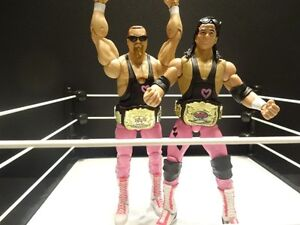 WWE Mattel Elite Hart Foundation