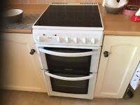 Electric cooker with fan oven Hotpoint EW42