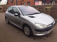 PEUGEOT 206 AUTOMATIC SILVER