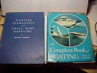 Two large Boating Books