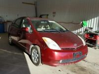 2006 TOYOTA PRIUS 1.5 HYBRID PETROL BREAKING FOR PARTS ENGINE BODY PANEL RED 1NZ PAK 10