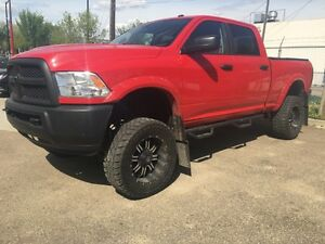 2014 DODGE RAM 2500//LIFTED//LEATHER//LOW KM **