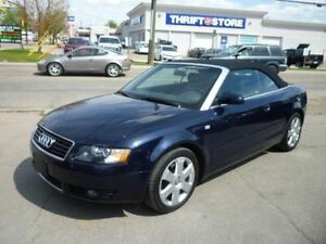 2003 Audi A4 3.0 CONVERTIBLE/only 85900 KMS!