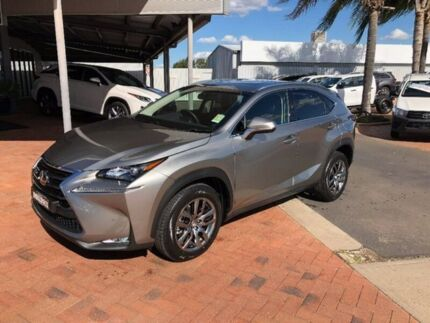 2017 Lexus NX AGZ15R NX200t AWD Luxury Silver 6 Speed Sports Automatic Wagon